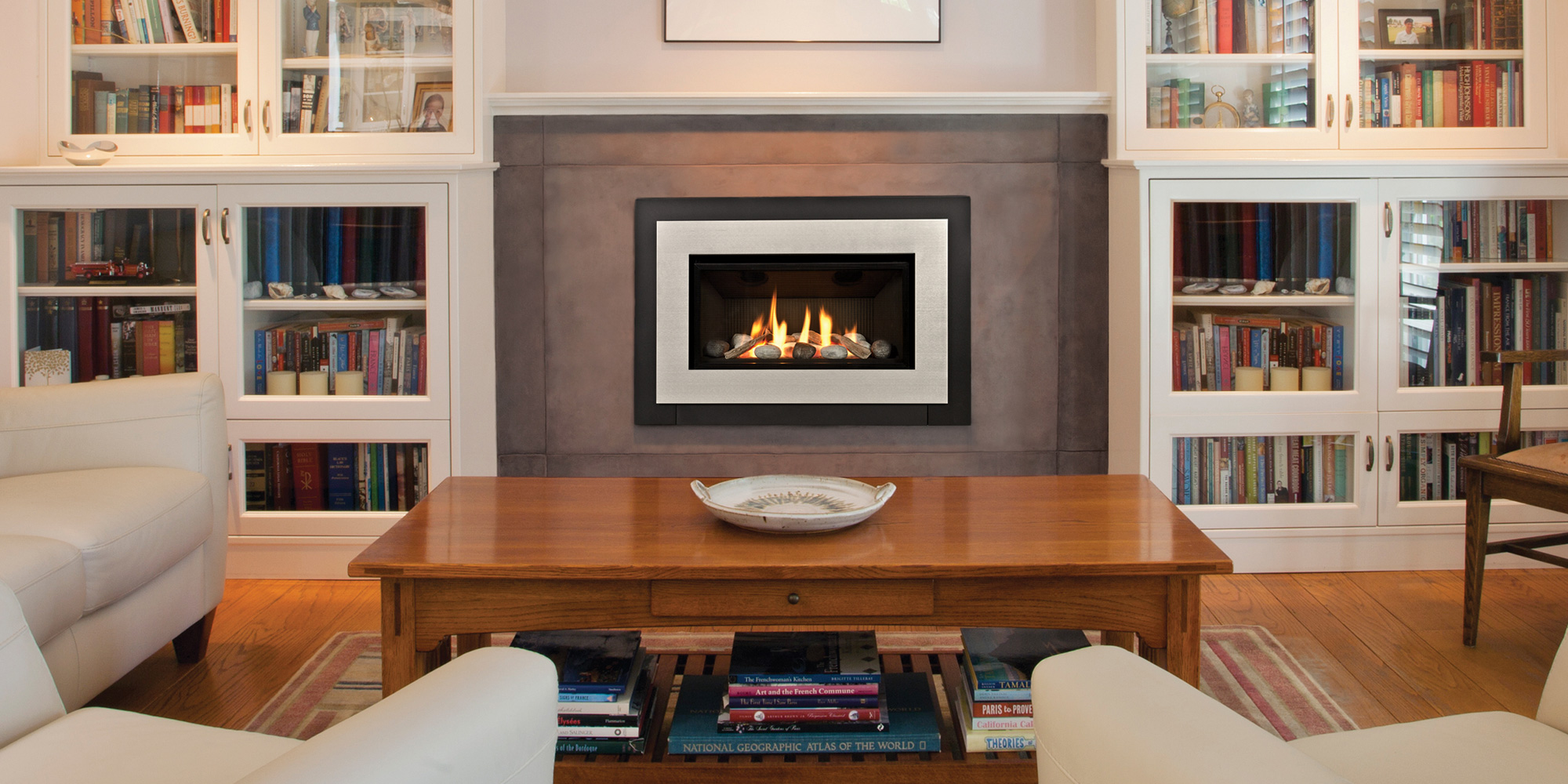sticks napolean mantel napoleon product copy living contemporary room vector gas nickle fireplace